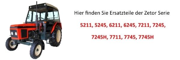 Zetor 5211 to 7745