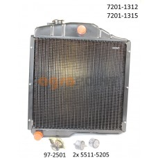 Zetor UR1 Water cooler kit 72011312 72011315 72011307 Spare Parts »Agrapoint