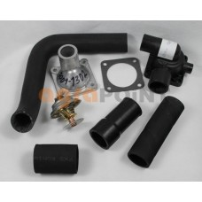 Zetor UR1 Thermostat with housing and hoses Spare Parts »Agrapoint